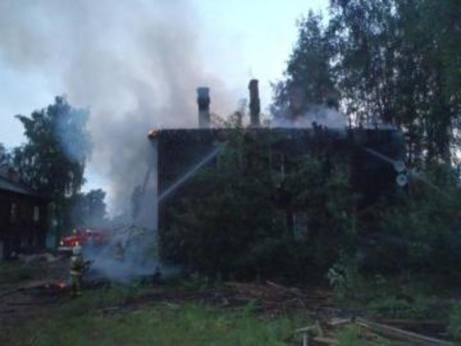 В Соликамске произошел пожар в многоквартирном доме
