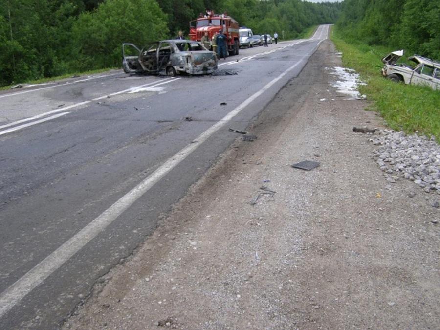 В ДТП в Александровском районе один человек погиб, двое травмированы - фото 1