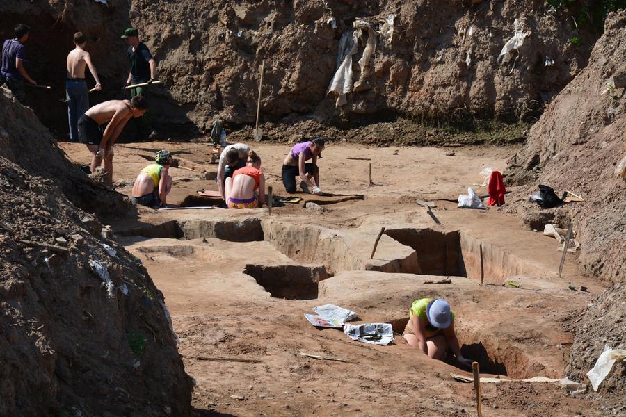 В центре Перми археологи нашли 30 захоронений - фото 1