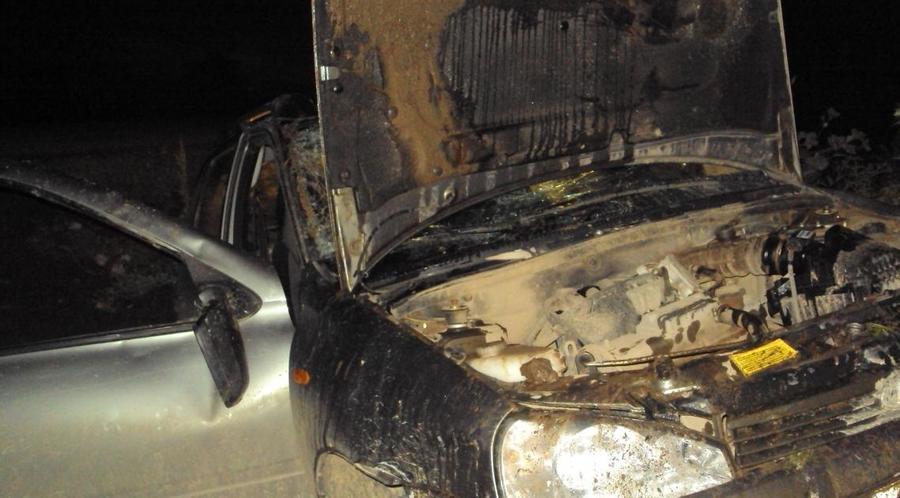 В Добрянском районе в перевернувшейся Калине пострадали два человека
