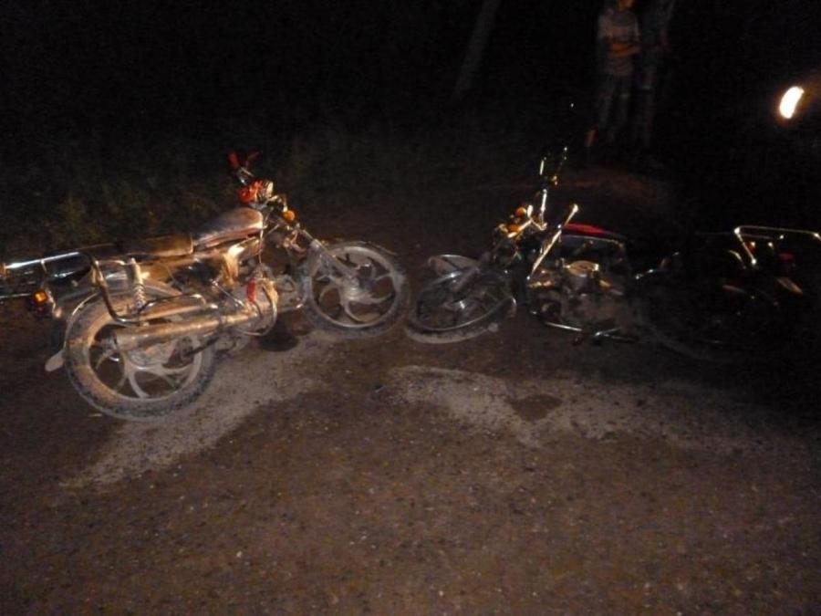 В Бардымском районе столкнулись два мопеда