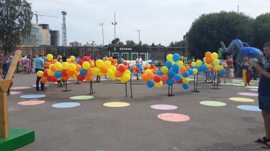 В Перми прошел праздник воздушных шаров