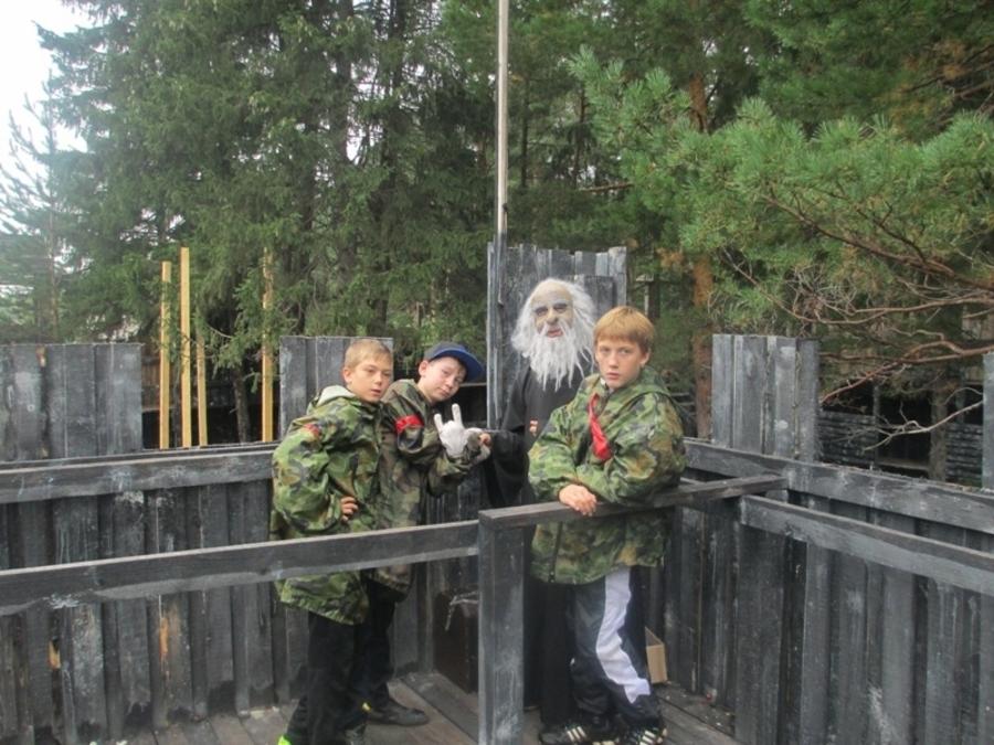 Пермские подростки поучаствовали в играх «Форт Боярд» и «Большие гонки»