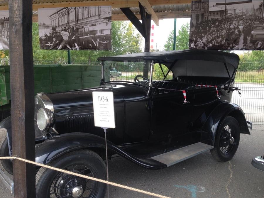 В Перми открылась выставка ретро-автомобилей