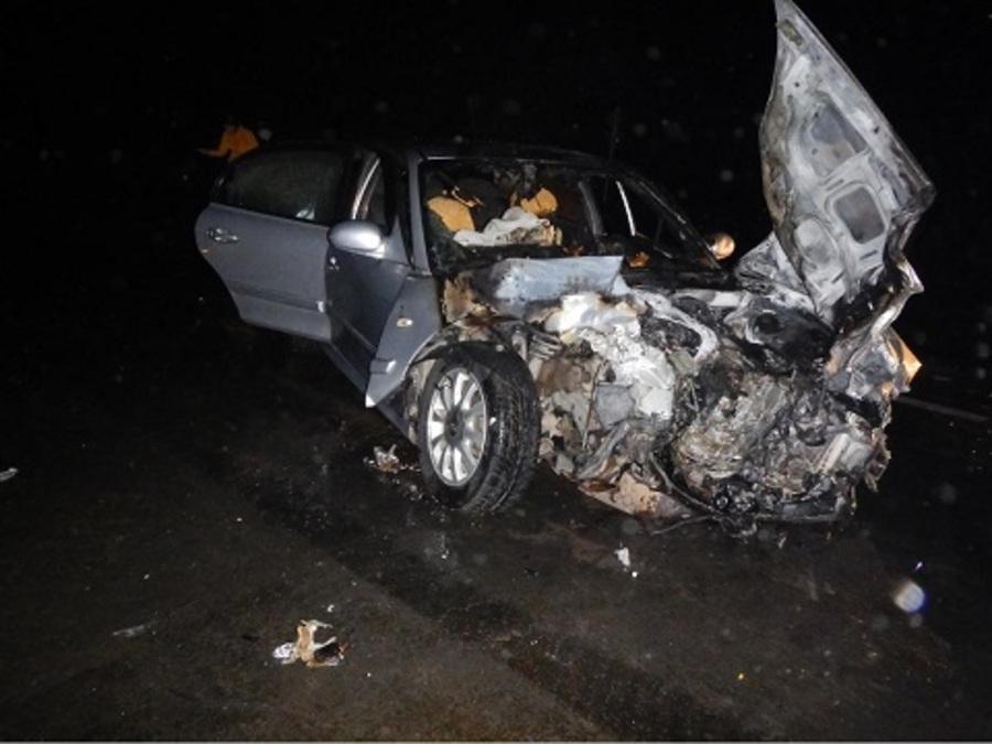 В ДТП в Чернушинском районе получили тяжелые травмы три человека