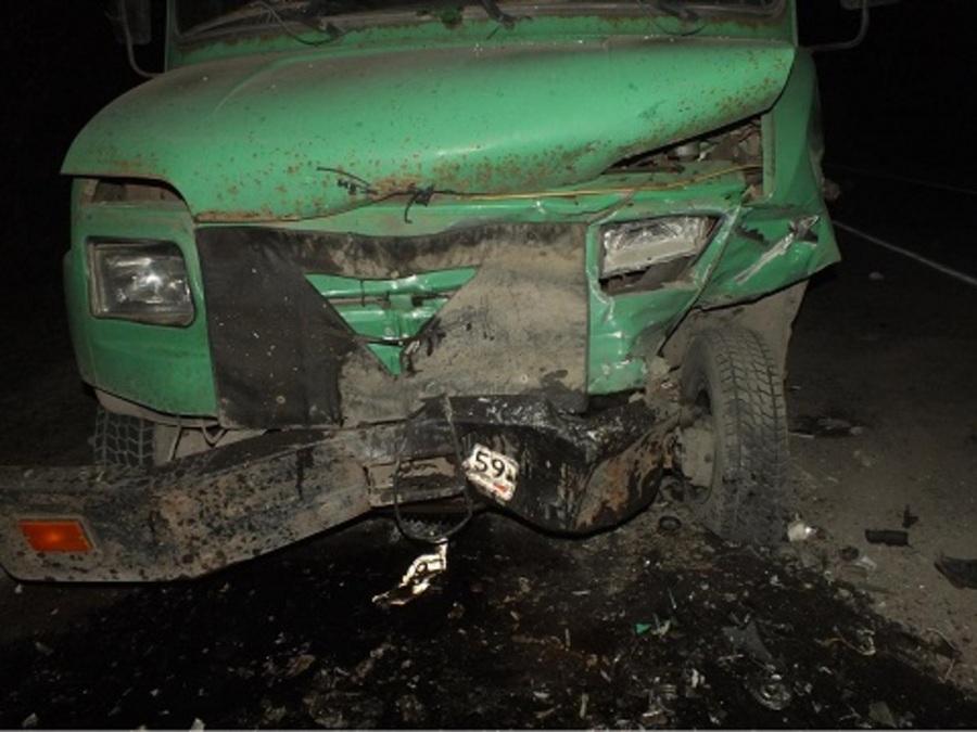 В Пермском крае в ДТП на трассе Соликамск-Красновишерск погибли три человека