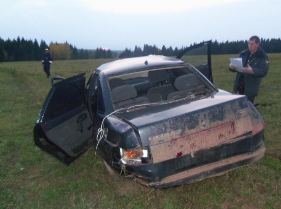 В Верещагинском районе в ДТП погиб водитель «десятки»