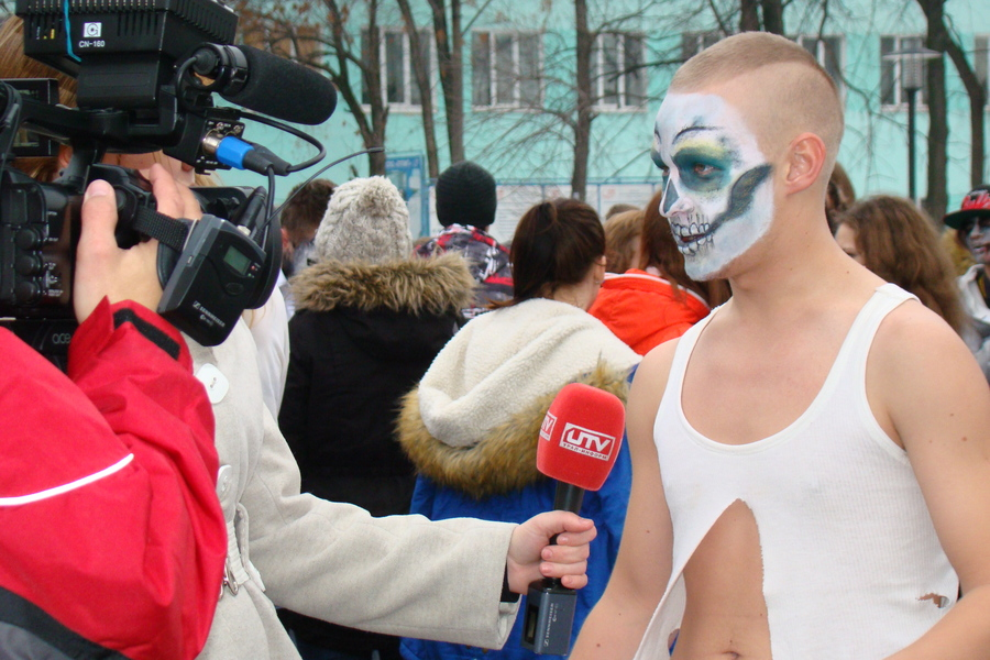 В Перми прошла танцевальная зомби-лихорадка