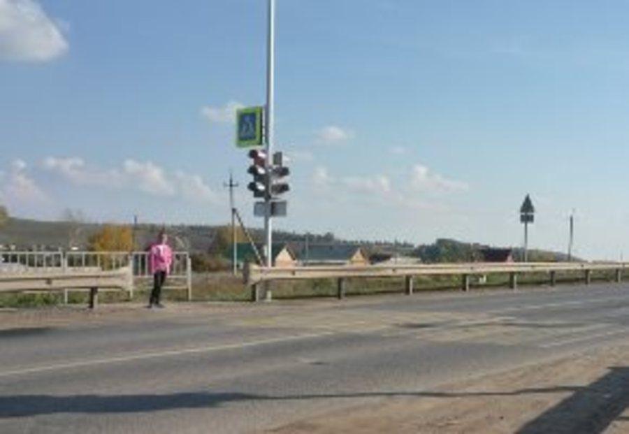 На федеральных трассах Пермского края установлены светофоры