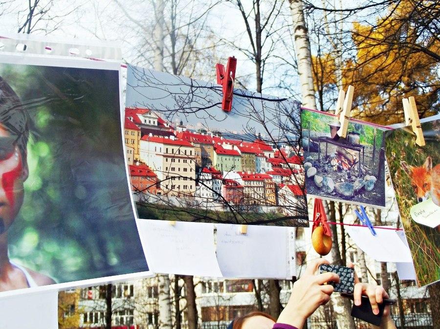 В Перми прошла выставка на бельевых верёвках - фото 8