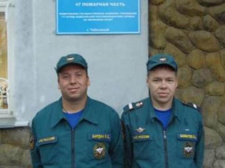 В Чайковском пожарные спасли шестерых человек - фото 1