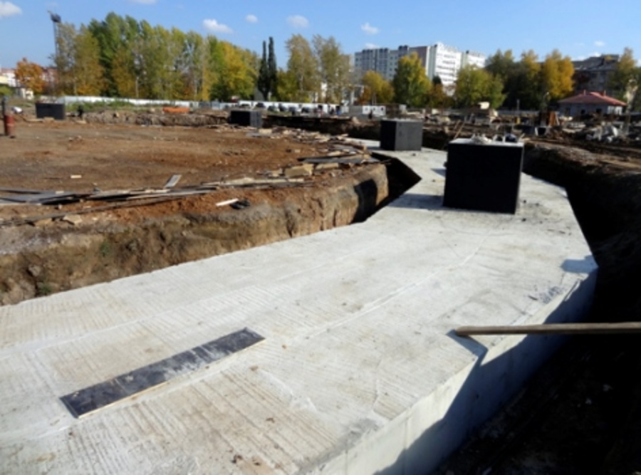 В Перми заложен фундамент новой телебашни