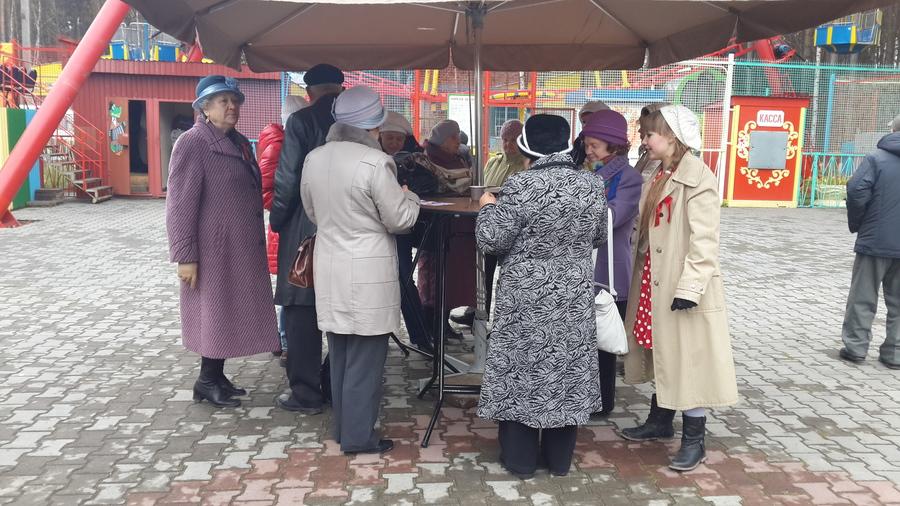 В Кировском районе Перми прошел праздник пожилых