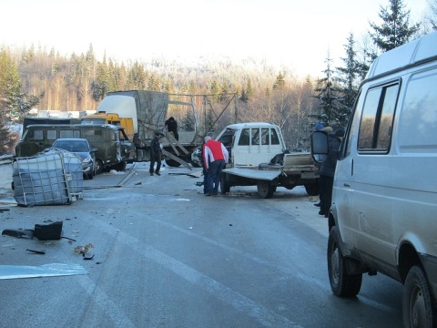 На трассе Кукуштан — Чайковский в столкновении Тойоты с УАЗом пострадали два человека