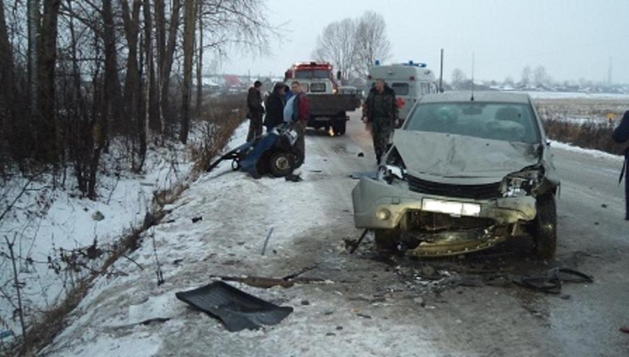 В ДТП в Чусовском районе два человека погибли, трое ранены