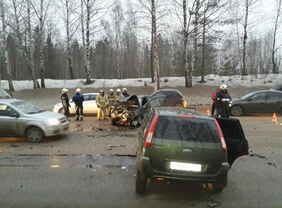 За выходные в Пермском крае в ДТП погибли пять человек