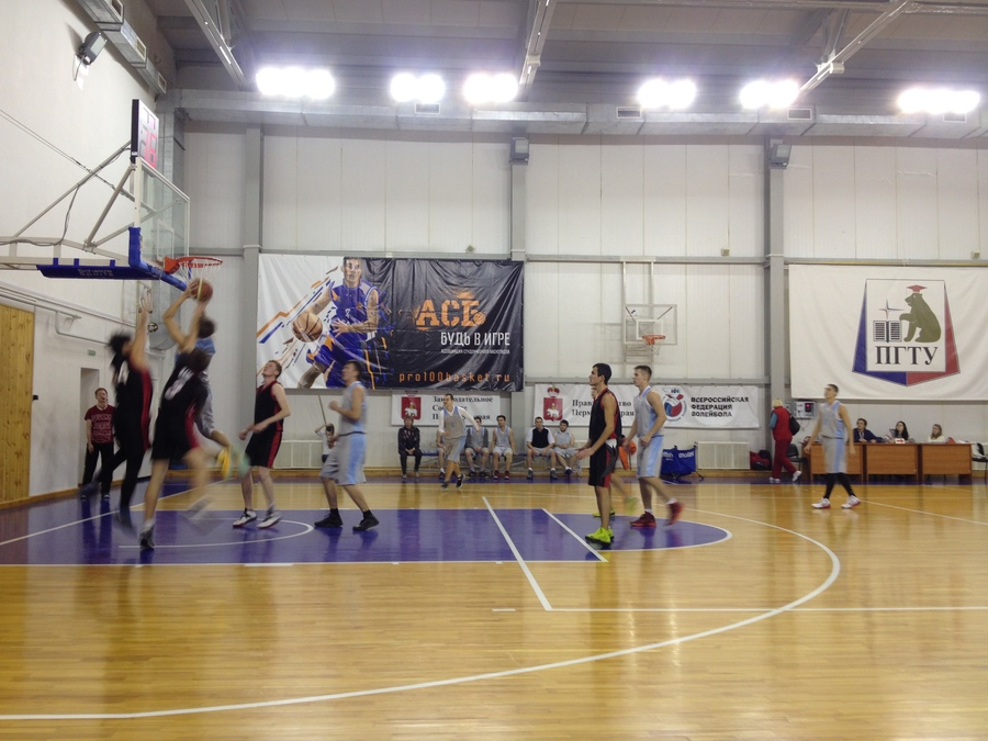 В Пермском политехе прошли разборки баскетболистов
