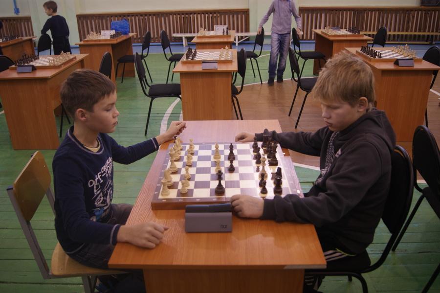В Чернушке прошло первенство района по быстрым шахматам