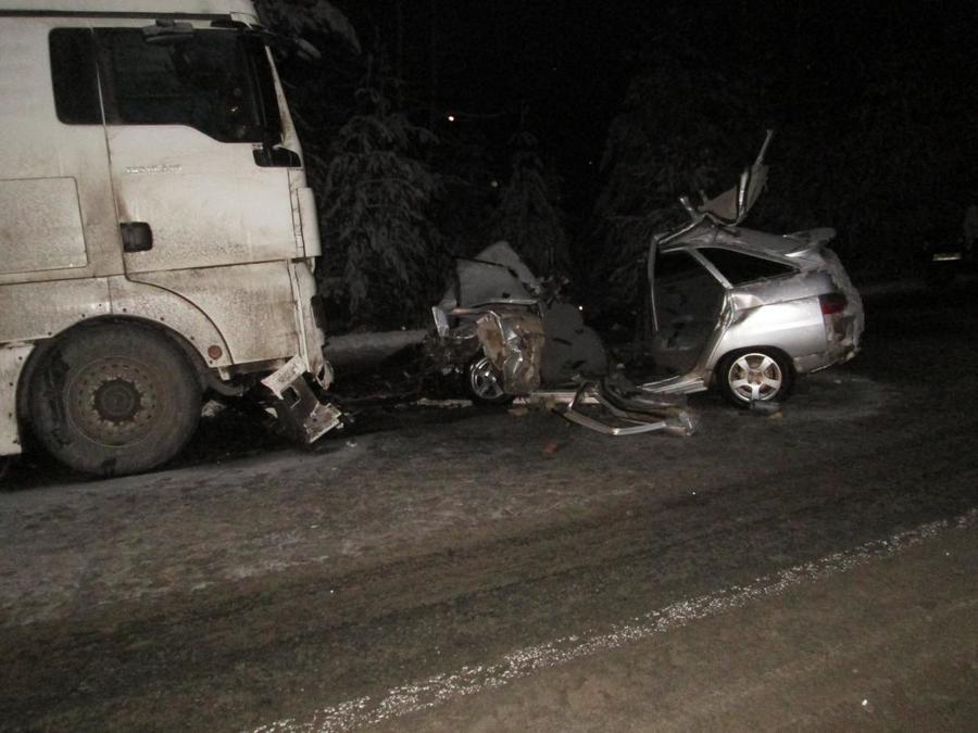 Два человека погибли в ДТП на трассе Кукуштан - Чайковский