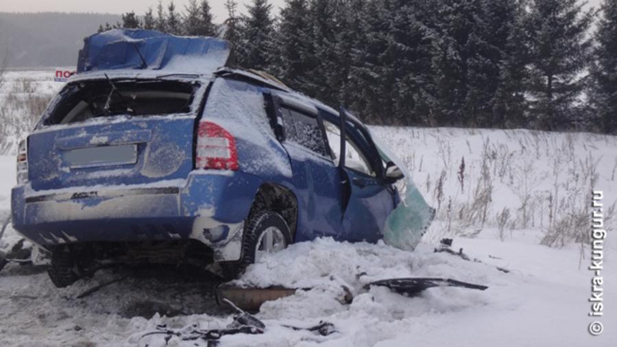 Сегодня на дорогах Пермского края погибли пять человек