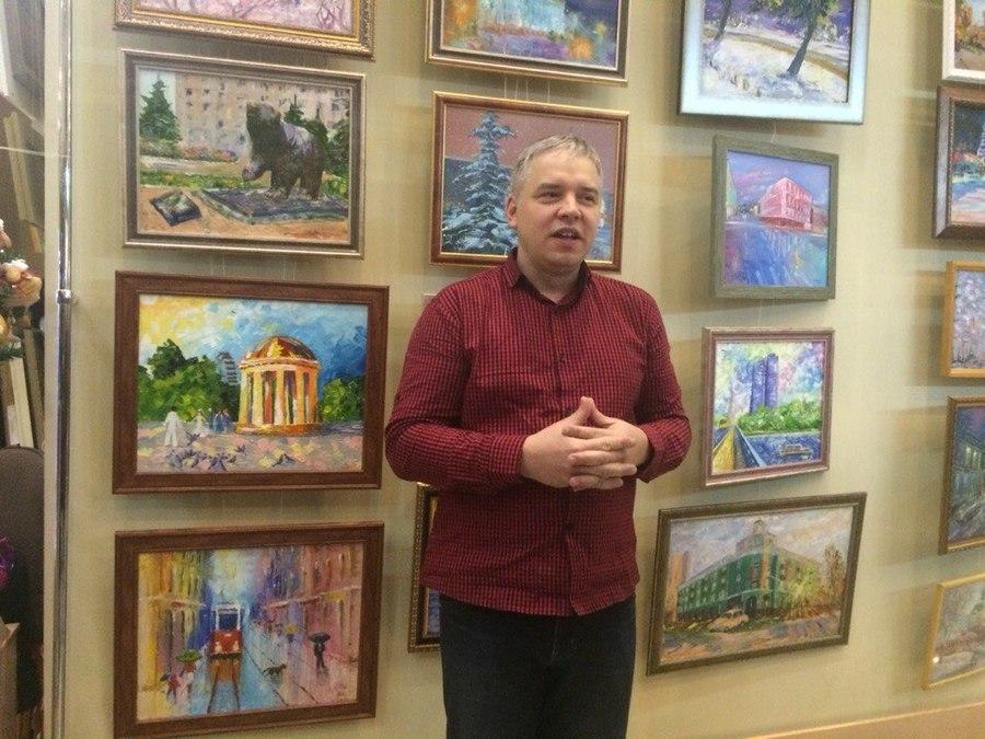 В Перми открылась выставка начинающих художников - фото 1