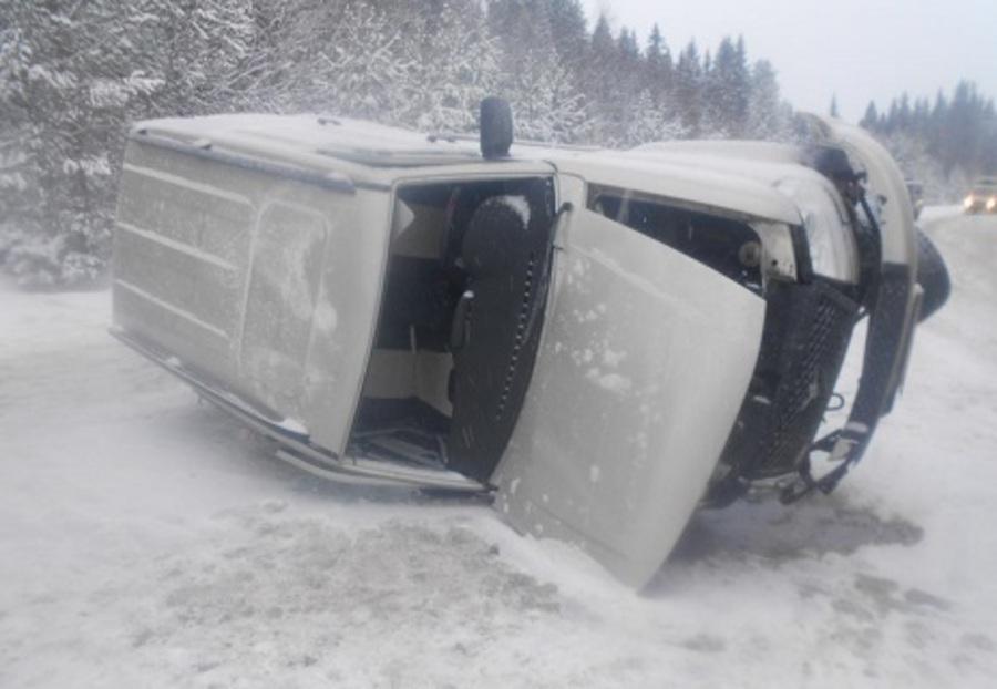 В ДТП на трассе Пермь — Ильинский ранены три человека