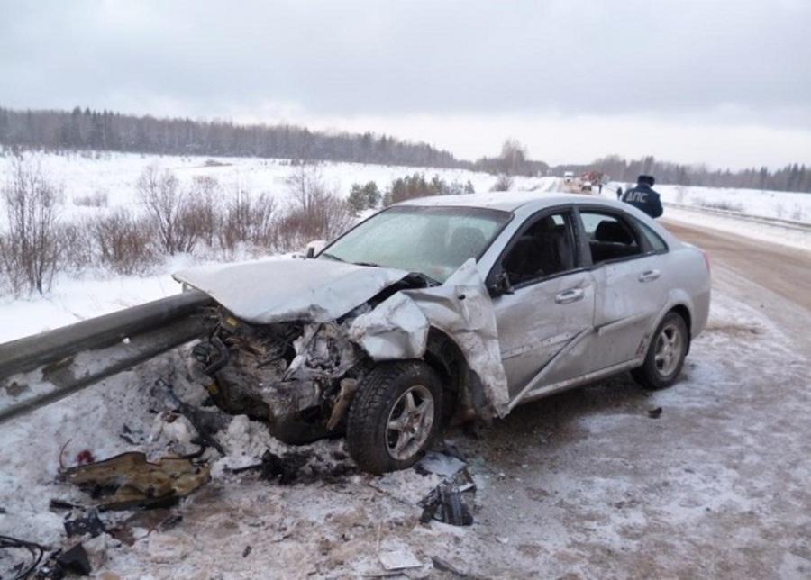 Один человек погиб в ДТП на трассе Оса-Чернушка