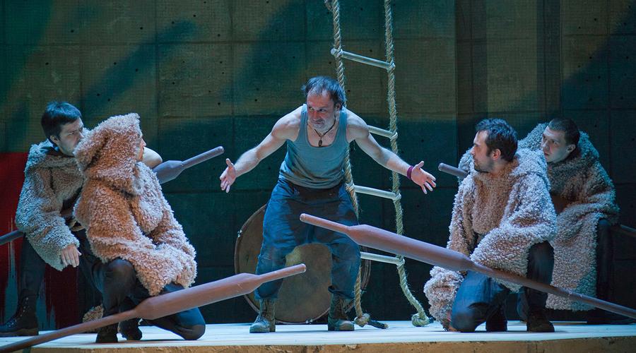 В Пермском Театре-Театре Одиссей назвал себя НИКТО