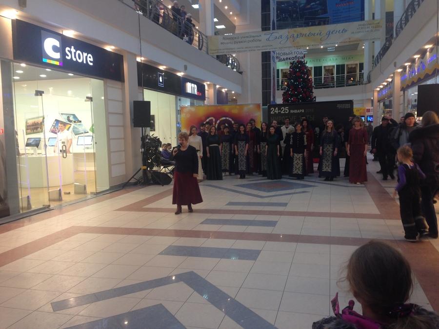 Пермский хор «Млада» выступил в «Столице»