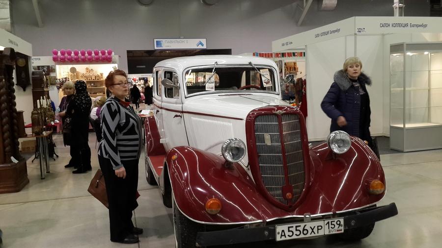 На Пермской ярмарке открылась выставка старинных предметов и хобби
