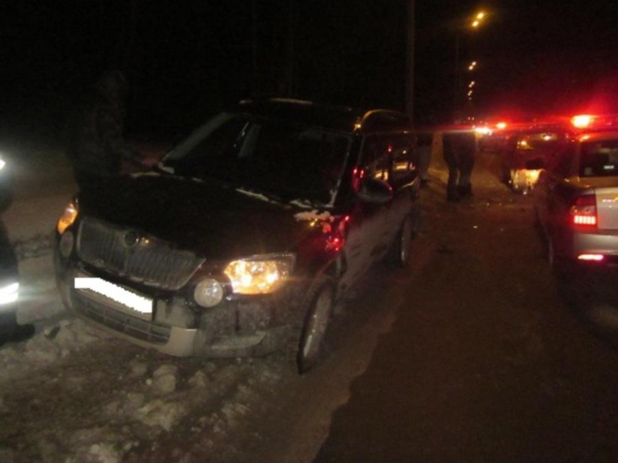 В Перми в столкновении трех автомобилей травмирован 4-летний малыш - фото 1