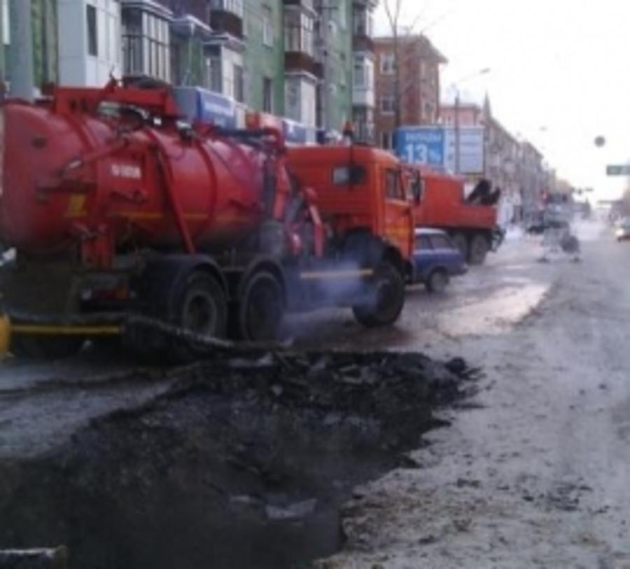 В Перми дома по улице Мира остались без воды - фото 1