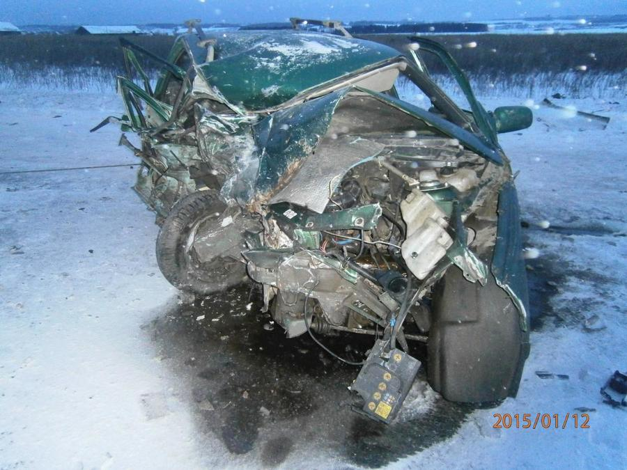 В Пермском районе водитель ВАЗа погиб в столкновении с Мицубиси - фото 1
