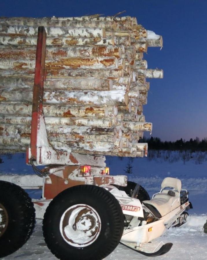 В столкновении снегохода Тайга с грузовиком один человек погиб, один - ранен