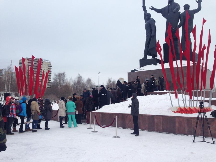 В Перми почтили память жертв блокады Ленинграда
