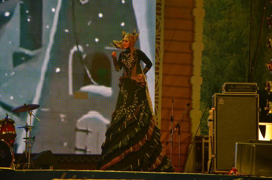 Снежная королева» согрела пермяков