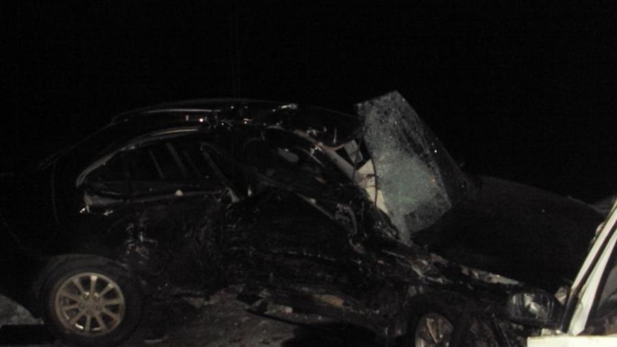 На трассе Пермь-Березники в столкновении Мицубиси и Ниссана погибли оба водителя