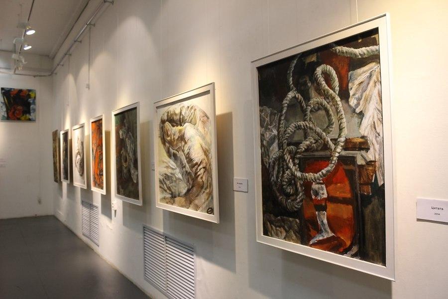 Пермская художница Ольга Кучева открыла дебютную выставку