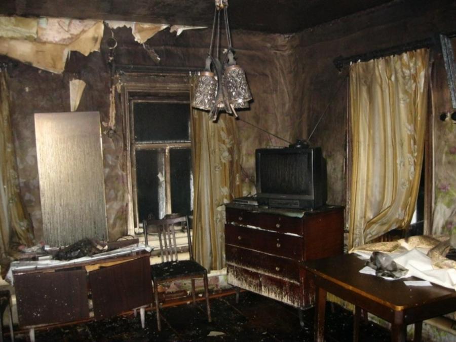 В Оханске на пожаре погибла 87-летняя пенсионерка - фото 1