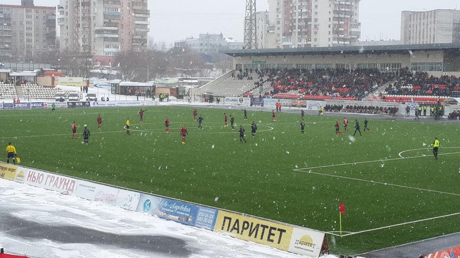 Пермский «Амкар» сыграл вничью с «Торпедо»