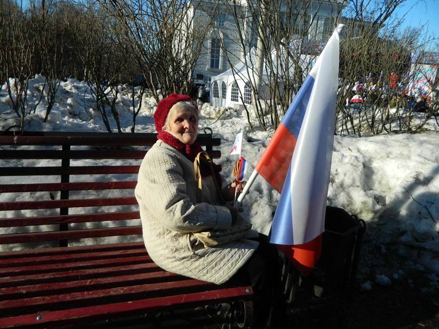 В Перми прошёл митинг в честь присоединения Крыма - фото 2