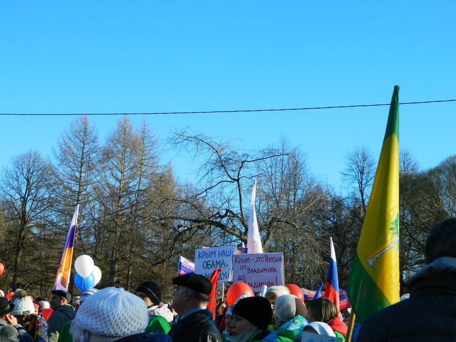 В Перми прошёл митинг в честь присоединения Крыма - фото 3