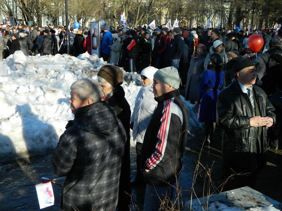 В Перми прошёл митинг в честь присоединения Крыма - фото 4