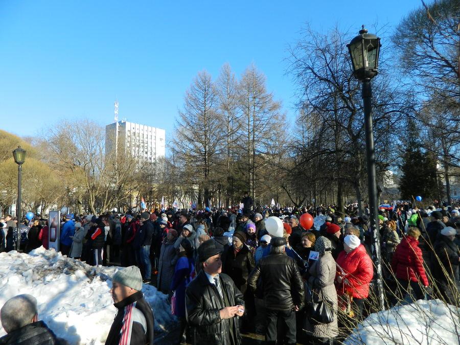 В Перми прошёл митинг в честь присоединения Крыма - фото 7