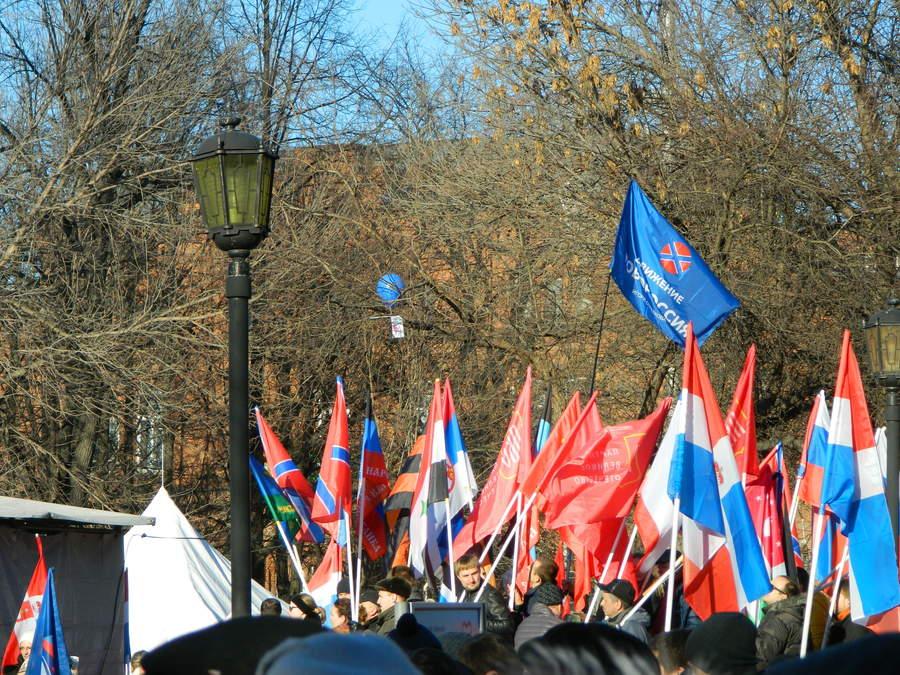 В Перми прошёл митинг в честь присоединения Крыма - фото 10