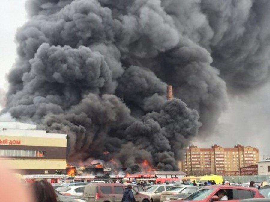 Казань :«Адмирал» в огне, семь пострадавших