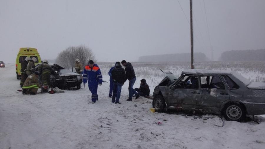 В ДТП под Кунгуром погибла женщина
