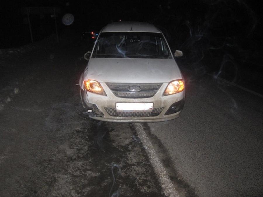 В Нытвенском районе пешеход погиб под колесами Ларгуса
