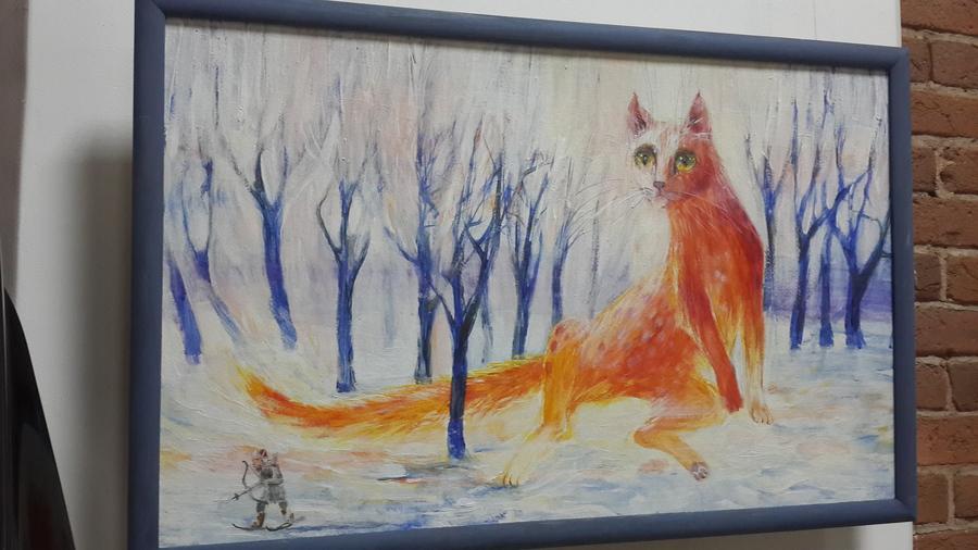 В Перми открылась выставка «Кошки, люди и коты»