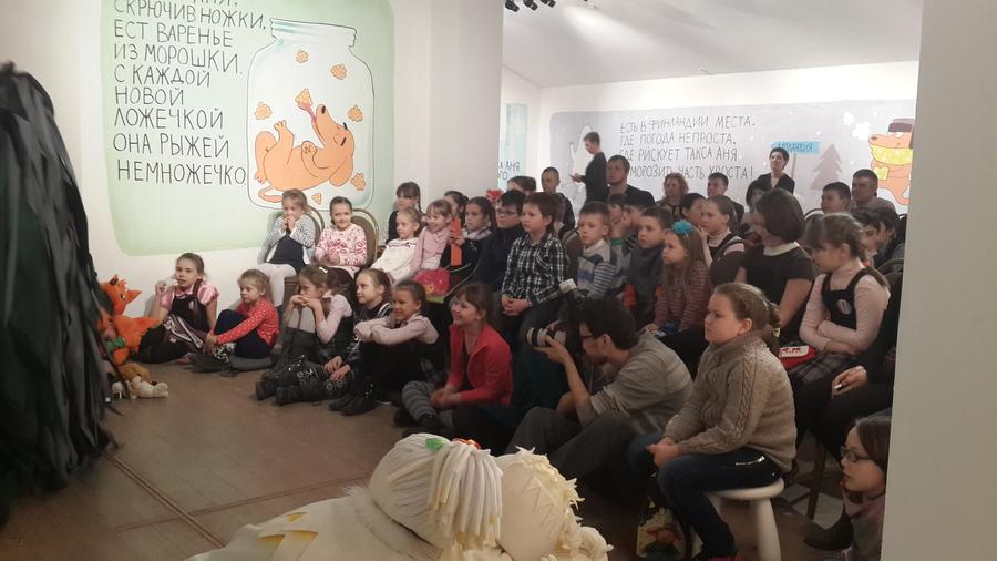 В Пермском музее советского наива дети встретились с Мумми-троллями - фото 5